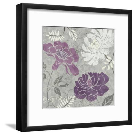 Morning Tones Purple I-Daphne Brissonnet-Framed Art Print