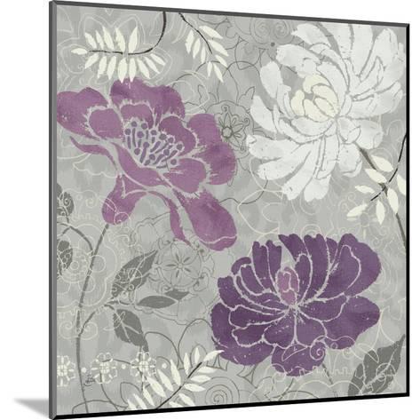 Morning Tones Purple I-Daphne Brissonnet-Mounted Art Print