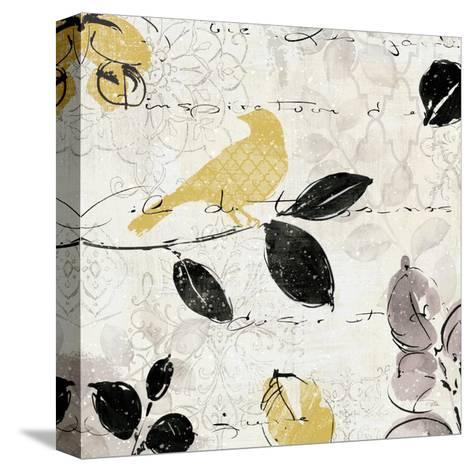 Plume and Motif I-Pela Design-Stretched Canvas Print