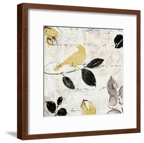Plume and Motif I-Pela Design-Framed Art Print