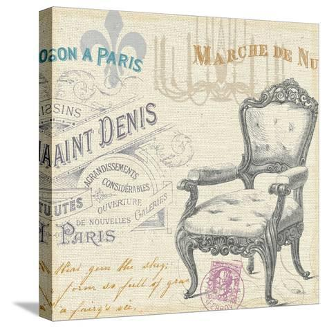 Victorian Vintage IV-Jess Aiken-Stretched Canvas Print