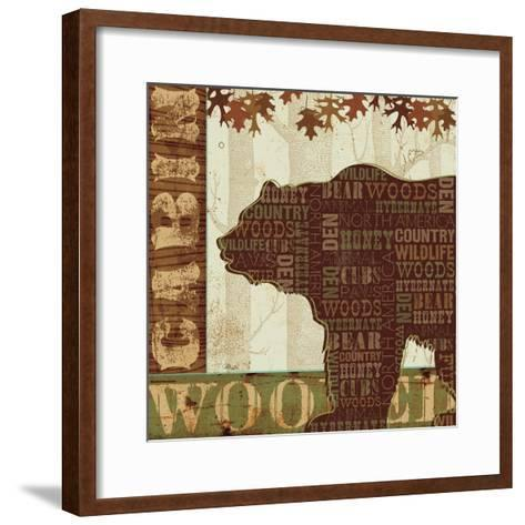 Woodland Words II-Jess Aiken-Framed Art Print