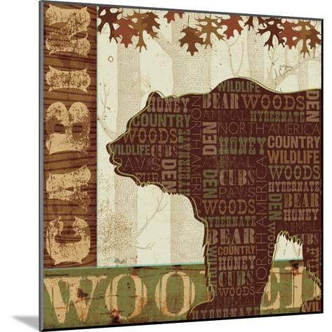 Woodland Words II-Jess Aiken-Mounted Art Print