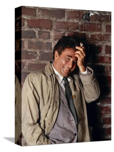 Peter Falk, Columbo, 1968--Stretched Canvas Print