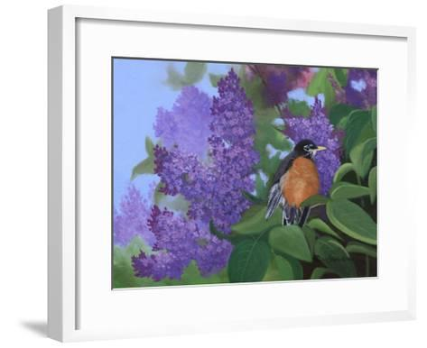 Lilacs Robin-Julie Peterson-Framed Art Print