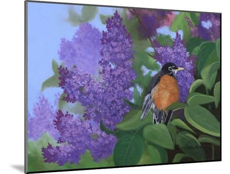 Lilacs Robin-Julie Peterson-Mounted Art Print