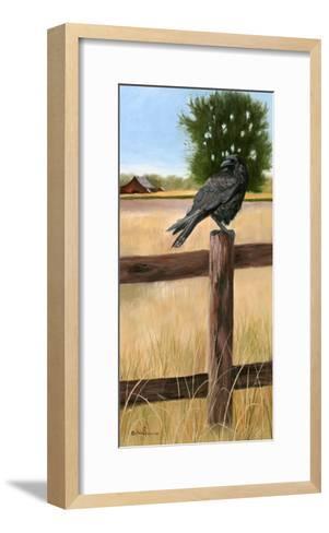 Crow-Julie Peterson-Framed Art Print