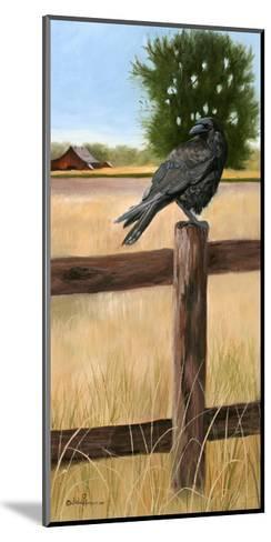 Crow-Julie Peterson-Mounted Art Print