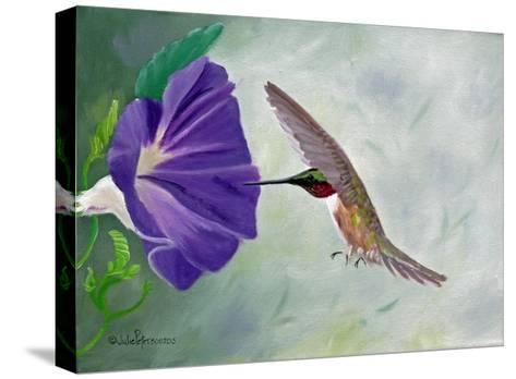 Morning Glory and Anna-Julie Peterson-Stretched Canvas Print