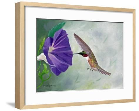 Morning Glory and Anna-Julie Peterson-Framed Art Print