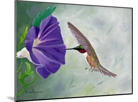 Morning Glory and Anna-Julie Peterson-Mounted Art Print
