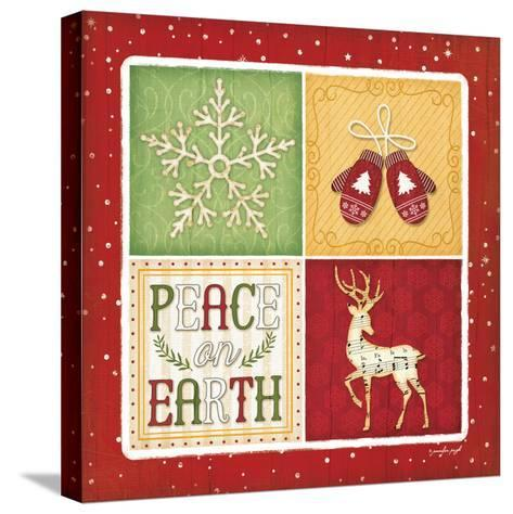 Peace on Earth-Jennifer Pugh-Stretched Canvas Print