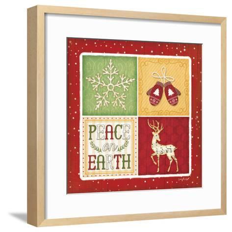 Peace on Earth-Jennifer Pugh-Framed Art Print