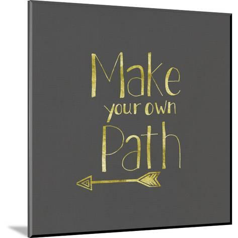 Foiled Glass Art - Path-Shanni Welch-Mounted Art Print