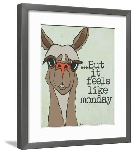 Feels Like Monday-Shanni Welch-Framed Art Print