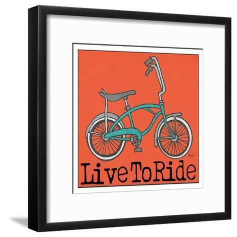 Banana Bike-Shanni Welch-Framed Art Print