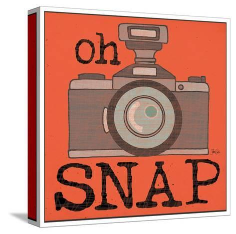 Camera - Snap-Shanni Welch-Stretched Canvas Print