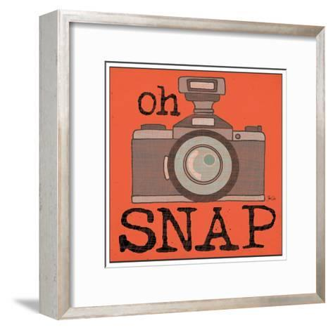 Camera - Snap-Shanni Welch-Framed Art Print