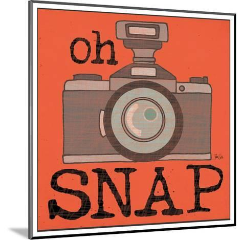 Camera - Snap-Shanni Welch-Mounted Art Print