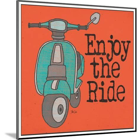 Vespa - Enjoy the Ride-Shanni Welch-Mounted Art Print