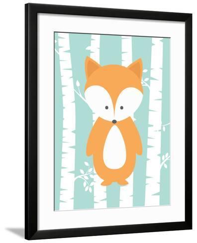 Woodland Birch 3-Tamara Robinson-Framed Art Print