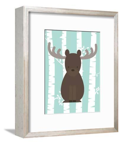 Woodland Birch 4-Tamara Robinson-Framed Art Print