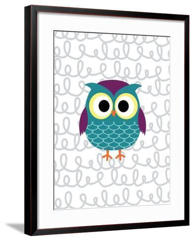 Owl 3-Tamara Robinson-Framed Art Print