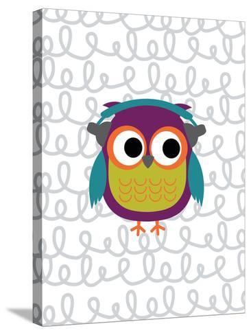Owl 2-Tamara Robinson-Stretched Canvas Print