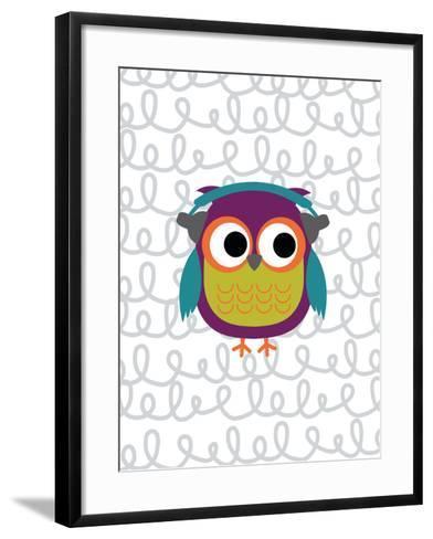 Owl 2-Tamara Robinson-Framed Art Print