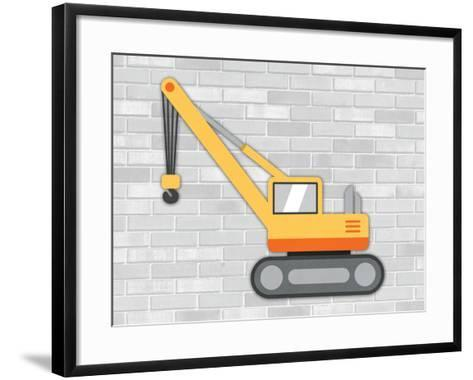 Construction 5-Tamara Robinson-Framed Art Print