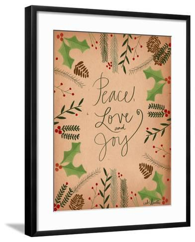 Peace Love Joy-Katie Doucette-Framed Art Print