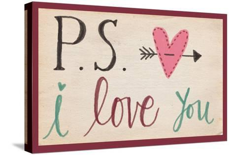 P.S. I Love You-Katie Doucette-Stretched Canvas Print