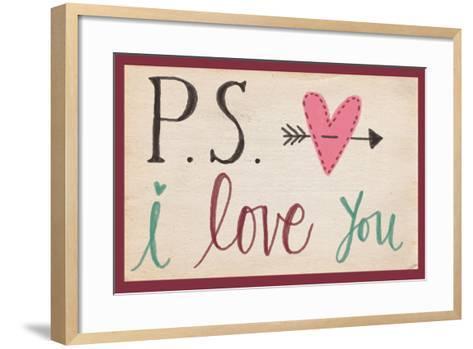 P.S. I Love You-Katie Doucette-Framed Art Print