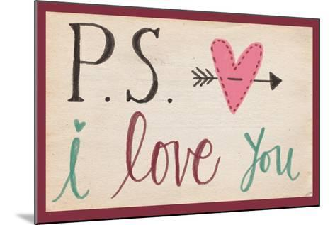 P.S. I Love You-Katie Doucette-Mounted Art Print