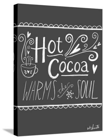 Hot Cocoa-Katie Doucette-Stretched Canvas Print