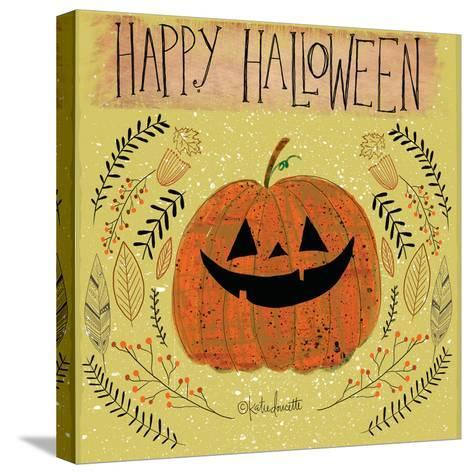 Happy Halloween-Katie Doucette-Stretched Canvas Print
