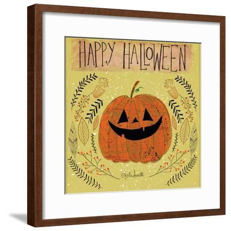 Happy Halloween-Katie Doucette-Framed Art Print