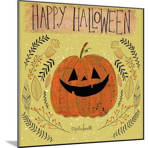 Happy Halloween-Katie Doucette-Mounted Art Print