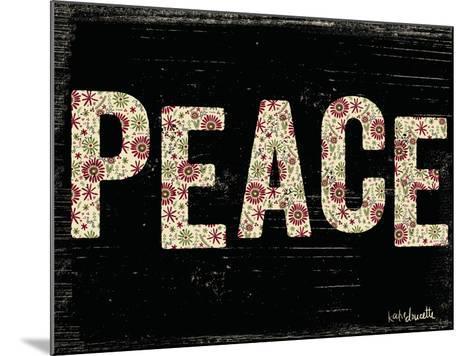 Christmas Peace-Katie Doucette-Mounted Art Print