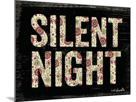Silent Night-Katie Doucette-Mounted Art Print