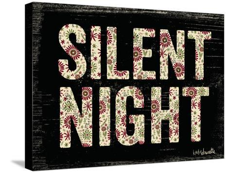 Silent Night-Katie Doucette-Stretched Canvas Print