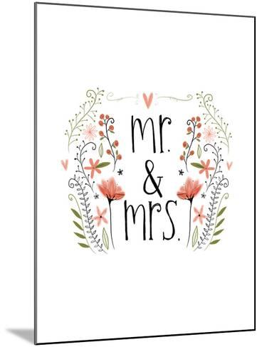 Mr and Mrs-Katie Doucette-Mounted Art Print