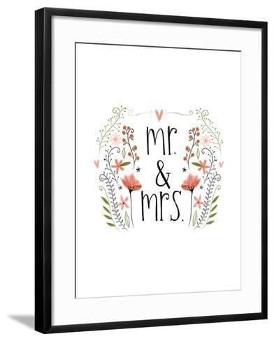 Mr and Mrs-Katie Doucette-Framed Art Print