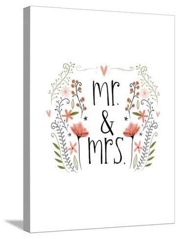 Mr and Mrs-Katie Doucette-Stretched Canvas Print