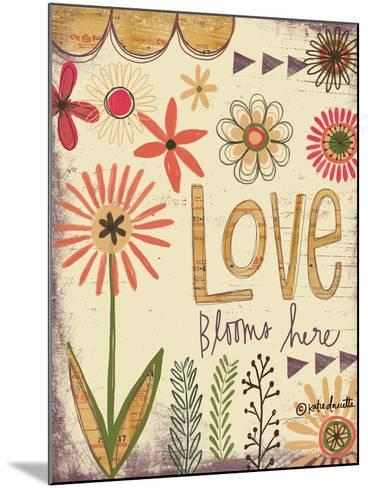 Love Blooms Here-Katie Doucette-Mounted Art Print
