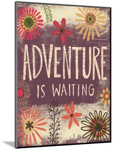 Adventure Is Waiting-Katie Doucette-Mounted Art Print