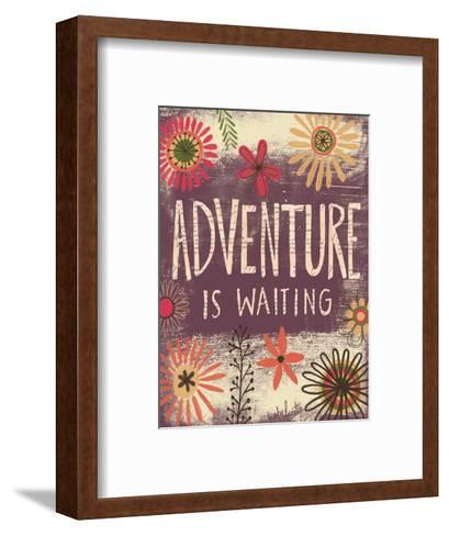 Adventure Is Waiting-Katie Doucette-Framed Art Print