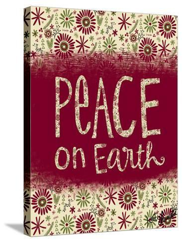 Peace on Earth-Katie Doucette-Stretched Canvas Print