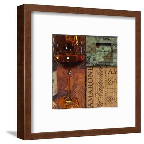Amarone Wine Night II-Lisa Wolk-Framed Art Print