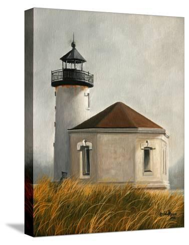 Coquil Lighthouse-Julie Peterson-Stretched Canvas Print